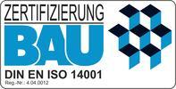 Zertifizierung Bau DIN EN ISO 14001